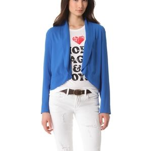 BB Dakota Arlene Cobalt Blue Blazer Cropped Jacket
